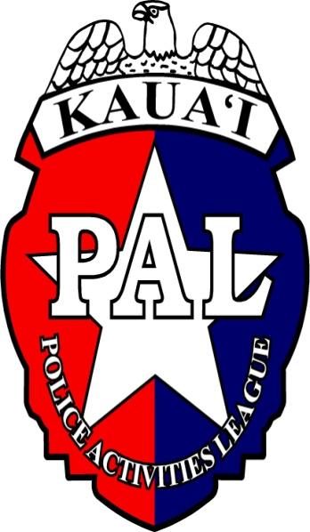 Kauai Police Activities League (KPAL) logo