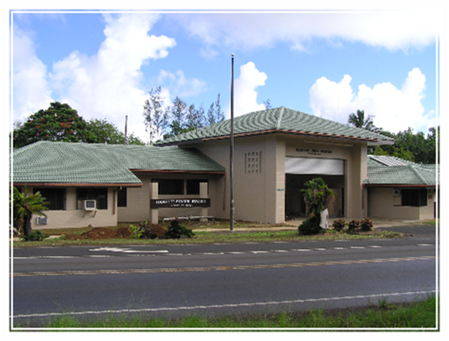 photo of Hanalei Police Station