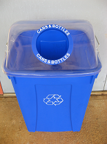 photo of retail bin