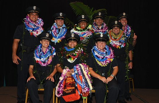 photo of the 85th Recruit Class Graduation