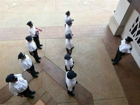 photo of KPD recruits