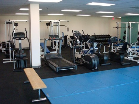 photo of fitness equipment at KPD