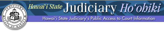 Hawaii State Judiciary's Public Access to Court Information (logo)