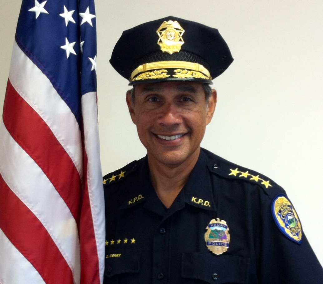 Photo of Chief Darryl Perry