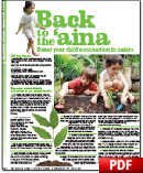 Back to the 'aina - Foster your child's connection to nature