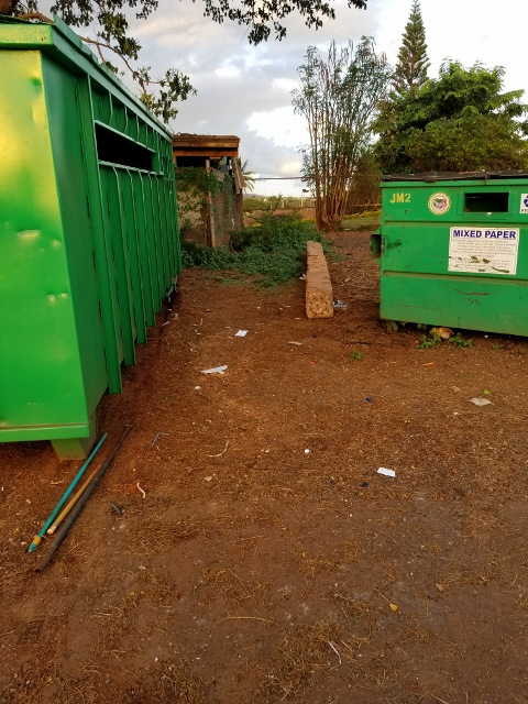 Recycling site cleaned-up